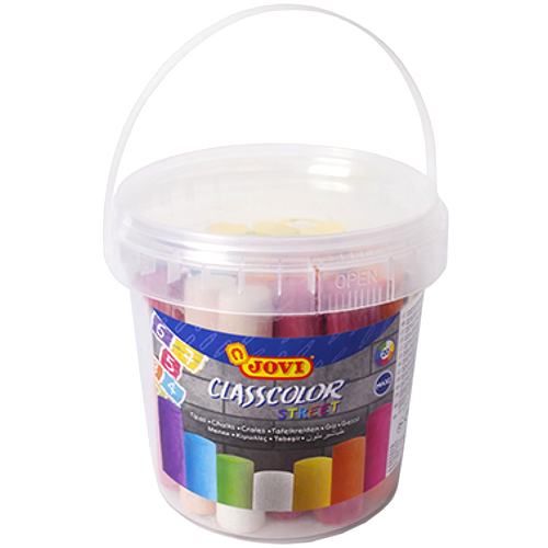 Tizas colores maxi suelo 20 ud
