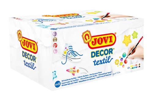 Rotuladores Textiles Jovi caja 48 ud detalle 4