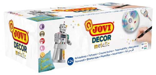 Rotuladores Jovi Decor metalizados caja 24 ud detalle 5
