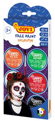 Maquillaje crema Halloween