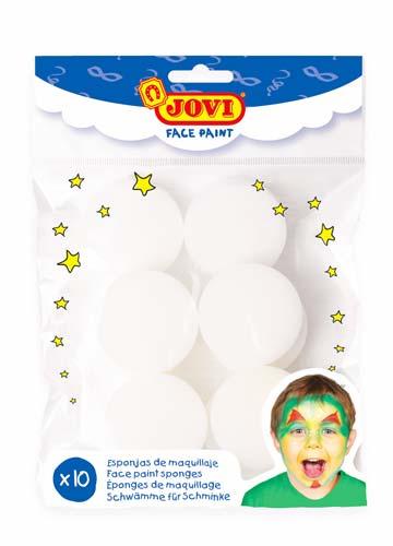 Esponjas de maquilla alta densidad 10 ud