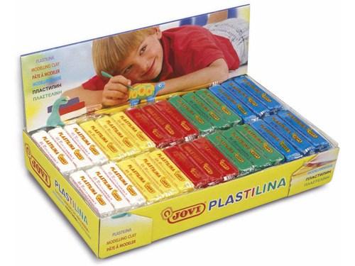Plastilina pack colores básicos 50 gr 30 ud