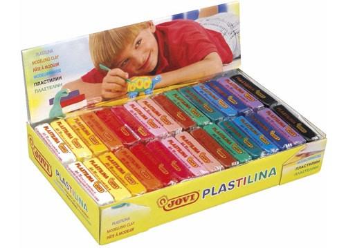 Plastilina pack colores surtidos 50 gr 30 ud