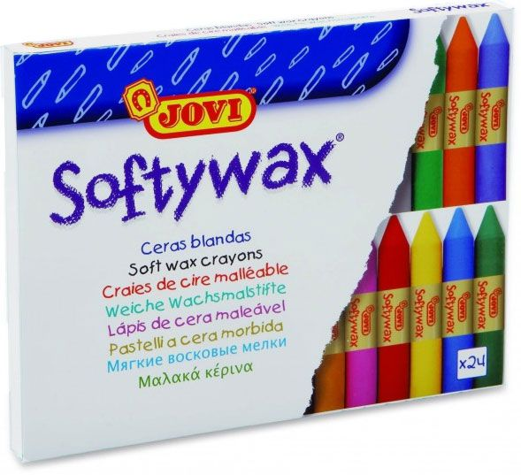 2. Softywax 24 ud. surtidas