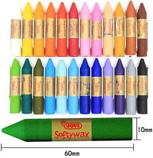 ceras Softywax 144 ud surtidas schoolpack detalle 4