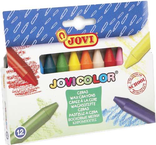 Ceras Jovicolor caja 12 ud