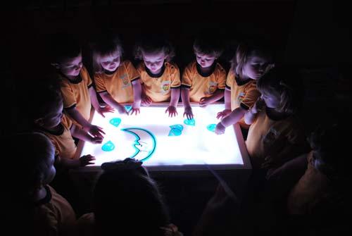 Mesa de luz 90 x 55 cm detalle