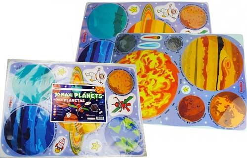 Maxi planetas traslúcidos 16 piezas detalle 1