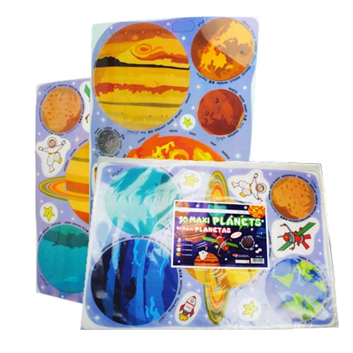 Maxi planetas traslúcidos 16 piezas