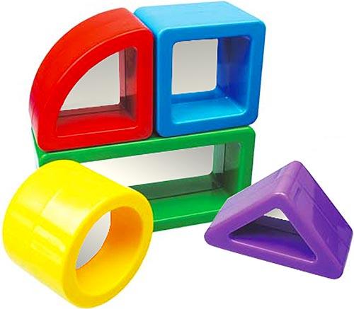 Espejo de juguete para bebés Set 5 piezas detalle 3