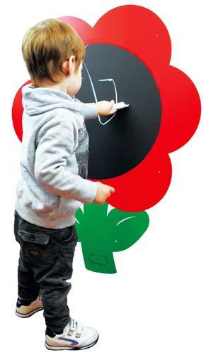 Pizarra Gigante Flor Magnética