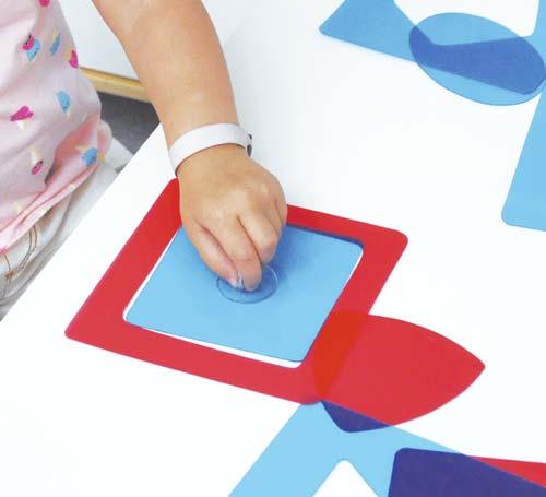 Formas Montessori detalle 1