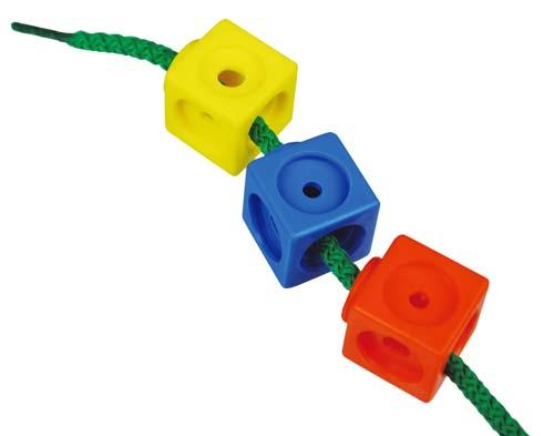Actividades con cubos Mathlink detalle 1