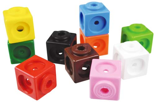 Actividades con cubos Mathlink detalle 2
