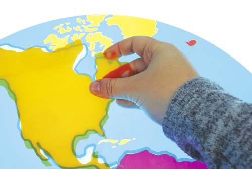 Descubre los continentes del mundo detalle 2