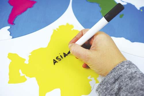 Descubre los continentes del mundo detalle 3