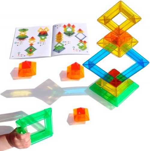 Pirámide Sakkaro 15 piezas + 100 modelos