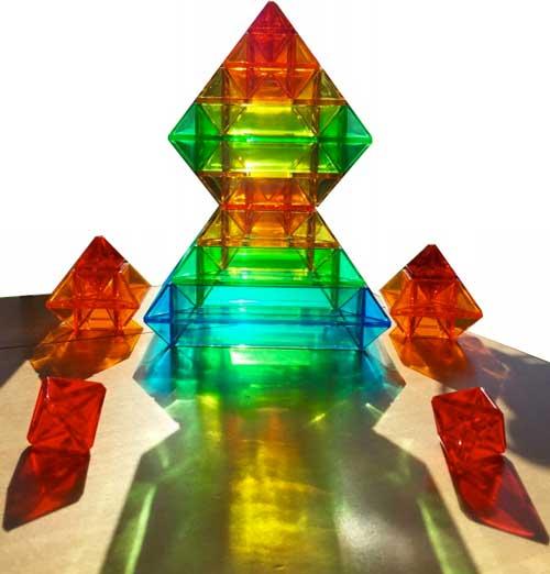 Pirámide Sakkaro 15 piezas + 100 modelos detalle 2