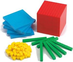 Base 10 en 4 colores 121 piezas