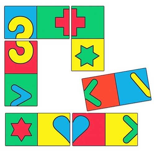 Dominó de simetría