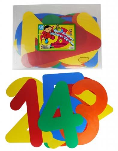 Números gigantes 70×38 cm detalle 3