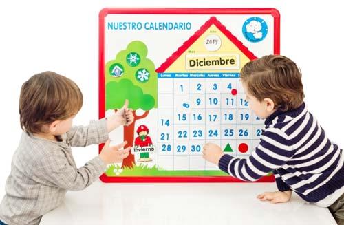 Nuestro calendario de clase detalle 3