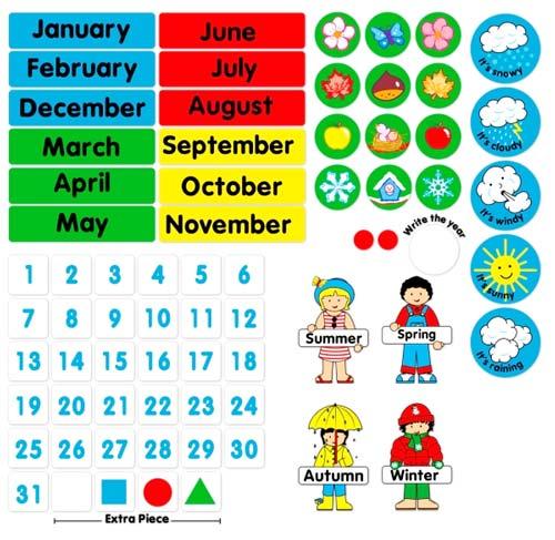 Nuestro calendario de clase detalle 4