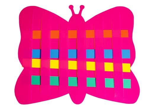 Tira de la tira - Mariposa y caracol detalle 2