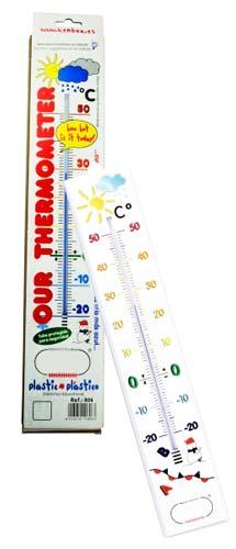Termómetro de aula 40 cm detalle 2