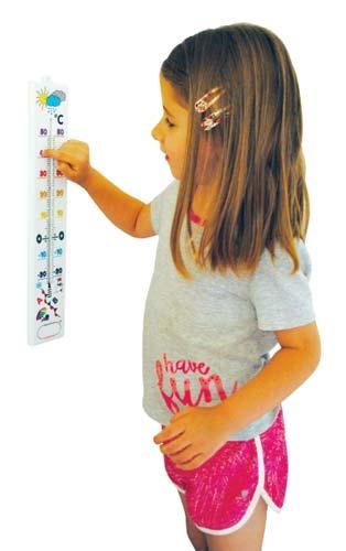 Termómetro de aula 40 cm