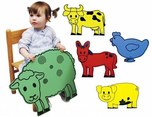 Animales gigantes granja detalle 3