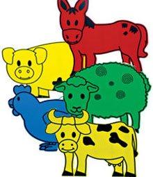 Animales gigantes granja detalle 2