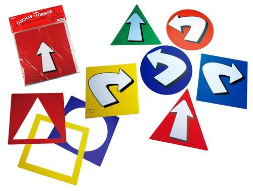 Flechas y formas detalle 3