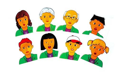 Pim y Ton caras y expresiones detalle 5