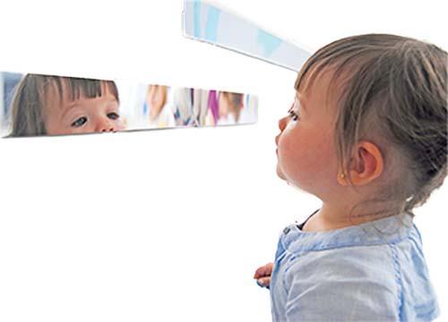Tira de espejo 4 metros