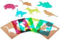 Plantillas mascotas, traslúcidas