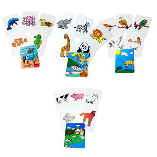 Tarjetas familias Animales  detalle 1