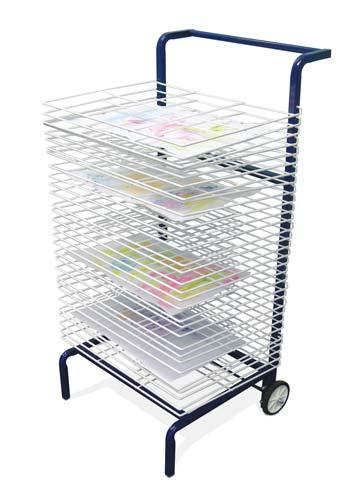 Rack de secado mobil 30 bandejas