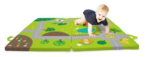 Colchoneta de tráfico para bebés  detalle 3