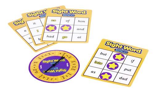 Bingo palabras en inglés