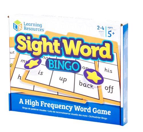 Bingo palabras en inglés detalle 2