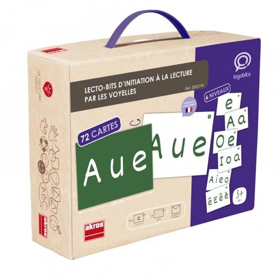 Lecto-Bits inicación lectura con vocales en francés detalle 1