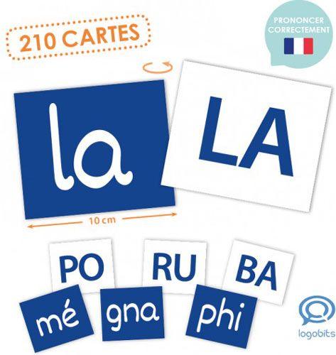 Lecto-Bits sílabas fonéticas francés