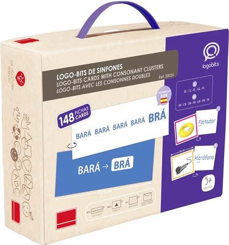 Logo-Bits pronunciación Sinfones detalle de la caja