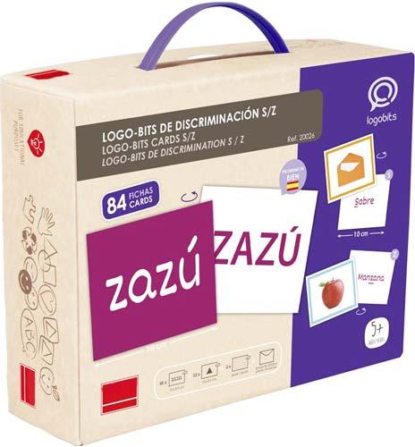 Logo-Bits de discriminación S-Z detalle de la caja