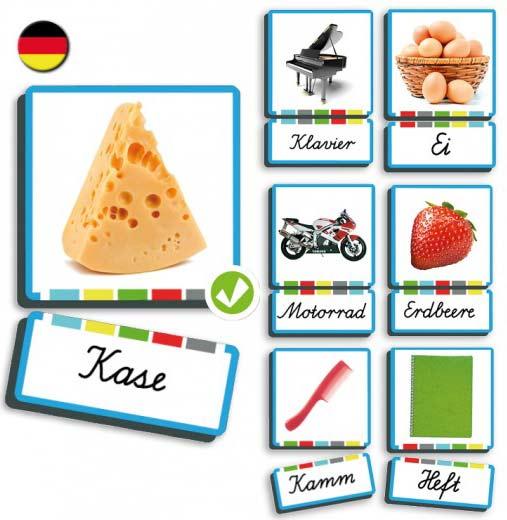 Autodictadado sustantivos alemán