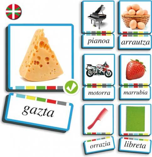 Autodictadado sustantivos euskera