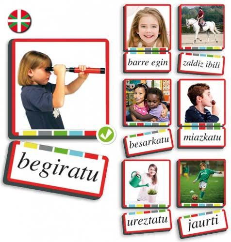Autodictado verbos euskera
