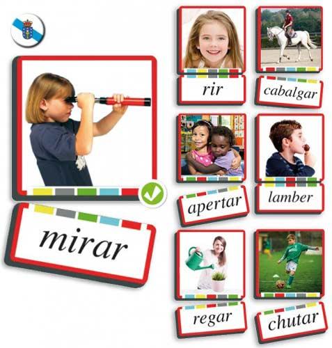 Autodictado verbos gallego