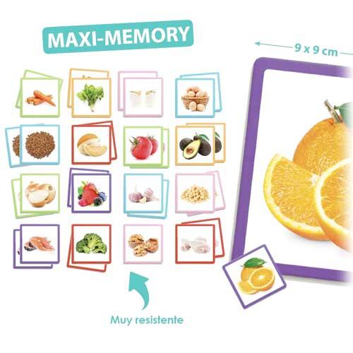 Maxi-Memory alimentos sanos